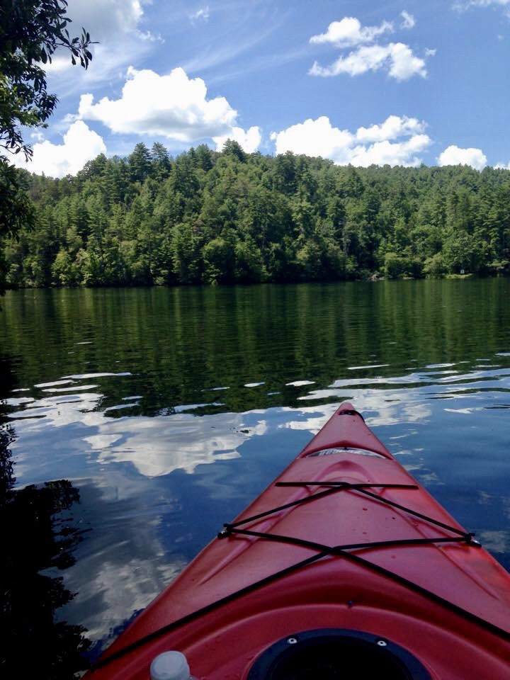 Appalachia Lake is made for Kayaks