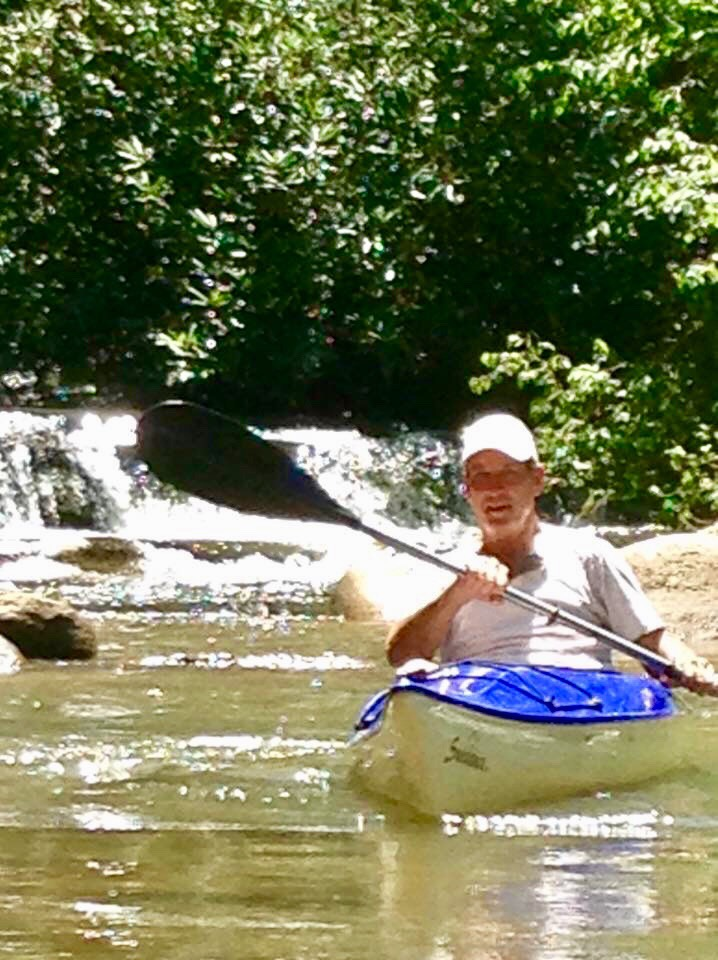 Kayaking Shoal Creek